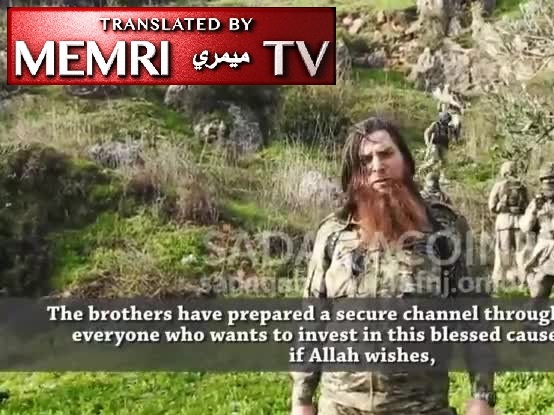 Syrian Jihadi Cryptocurrency Crowdfunding Platform Releases Video of Militant Leader Encouraging Supporters to Donate Through Bitcoin